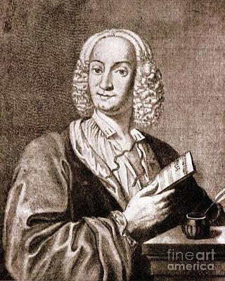 Antonio Vivaldi, Italian Composer Art Print by Science Source