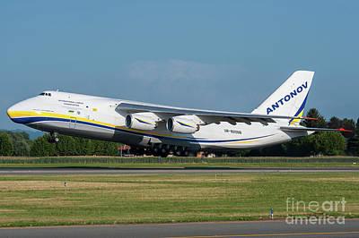 Commercial Photograph - Antonov An124 Design Bureau by Roberto Chiartano
