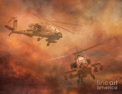 Recently Sold - Transportation Royalty-Free and Rights-Managed Images - Apache Night by Randy Steele