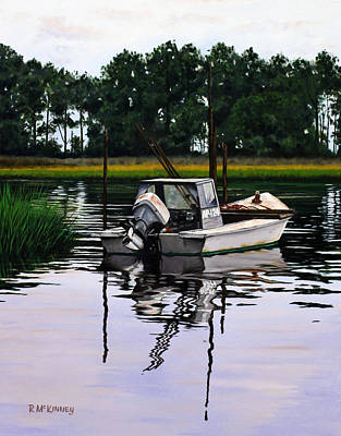 Art Print featuring the painting Apalach by Rick McKinney