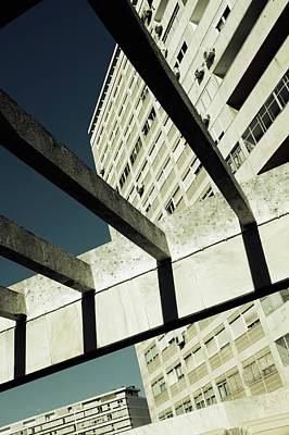 Photograph - Apartment Buildings In Lisbon by Carlos Caetano