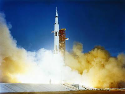 Photograph - Apollo 8 Launch, 1968 by Granger