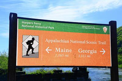 Photograph - Appalachian National Scenic Trail by Raymond Salani III