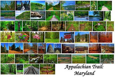 Photograph - Appalachian Trail Maryland  by Raymond Salani III
