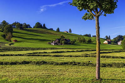 Photograph - Appenzell Landscape, Switzerland by Elenarts - Elena Duvernay photo