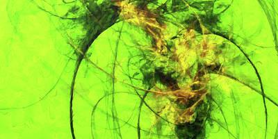 Digital Art - Apple Of My Eye by Digital Photographic Arts