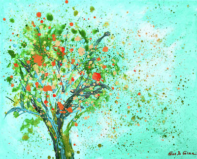 Painting - Apple Tree by Gina De Gorna