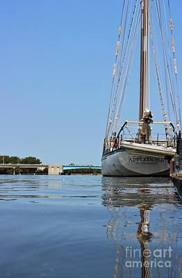 Photograph - Appledore At Dock by Erick Schmidt