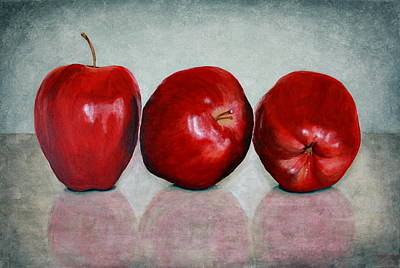 Apples Art Print by Andrea Meyer