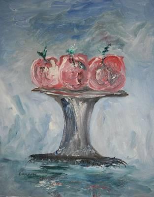 Apples Art Print by Edward Wolverton