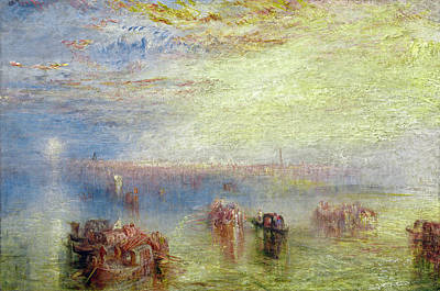 Painting - Approach To Venice by Joseph Mallord William Turner