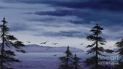 Painting - Approaching Storm by James Williamson