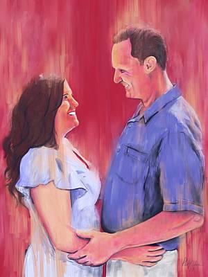 Digital Art - April Engagement by Phil Vance