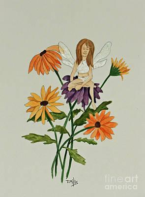 April Art Print by Terri Mills