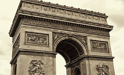 Photograph - Arc De Triomphe In France by JAMART Photography
