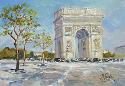 Arc De Triomphe, Paris Art Print
