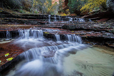 Photograph - Arch Angel Falls by Wesley Aston
