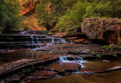 Photograph - Archangel Falls by Dave Koch