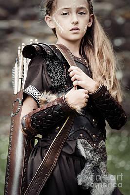 Warrior Women Photograph - Archer Girl by Amanda Elwell