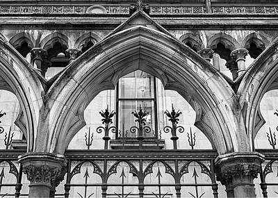 Photograph - Arches In Front Of The Courts by Shirley Mitchell