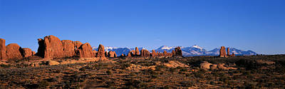 Arches National Park, Moab, Utah, Usa Art Print by Panoramic Images