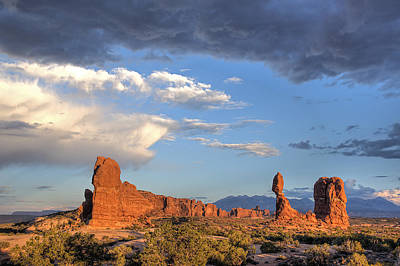 Photograph - Arches Sunset by Doug Davidson