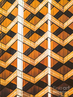 Photograph - Architectural Abstraction by Frances Ann Hattier