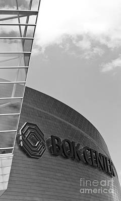 Tulsa Oklahoma. Architecture Photograph - Architectural Modern Building The Bok Center In Tulsa by ELITE IMAGE photography By Chad McDermott