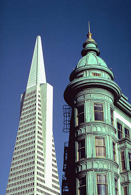 Photograph - Architecture In San Francisco by Carl Purcell