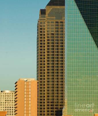 Metroplex Office Photograph - Architecture - Skyline Of Dallas Texas by Anthony Totah
