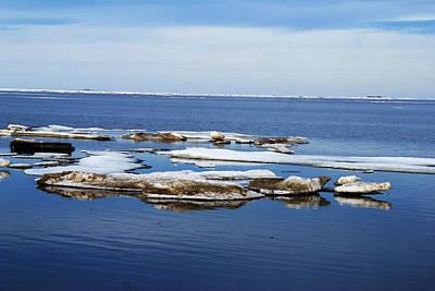 Photograph - Arctic Ice by Anthony Jones