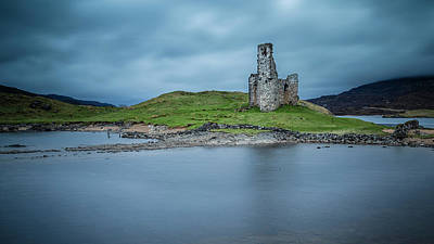 Photograph - Ardvreck Castle by John Frid