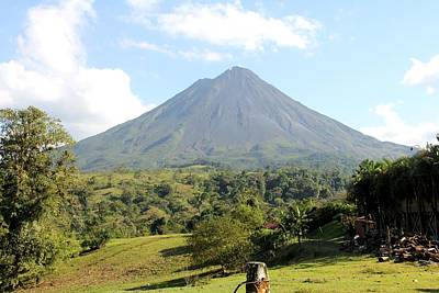 Photograph - Arenal Volcano by Charlene Reinauer