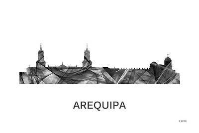 Arequipa Peru Skyline Print by Marlene Watson