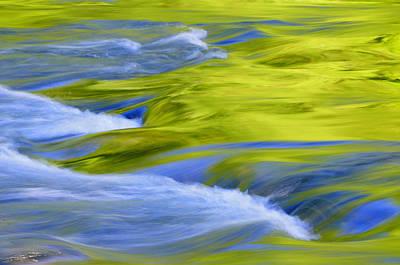 Argen River Art Print by Silke Magino
