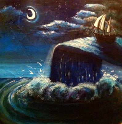 Painting - Argonaut by Katerina Roy