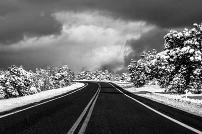 Photograph - Arizona Snow by Gregory Daley  PPSA