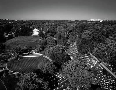 Photograph - Arlington Cemetery by L O C