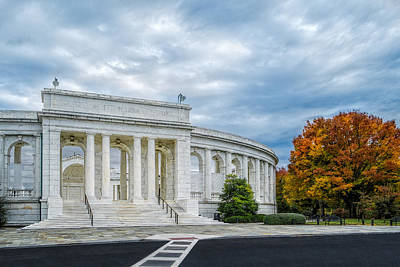 Photograph - Arlington Memorial Amphitheater by Susan Candelario