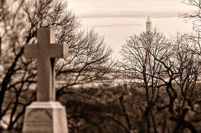 Photograph - Arlington National Cemetery Virginia Usa by Celso Diniz