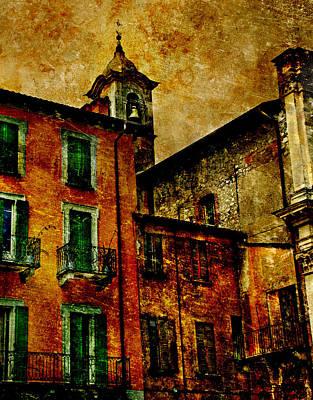 Arona Italy Art Print