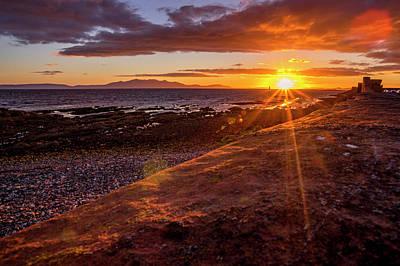 Photograph - Arran Sunset by Sam Smith Photography