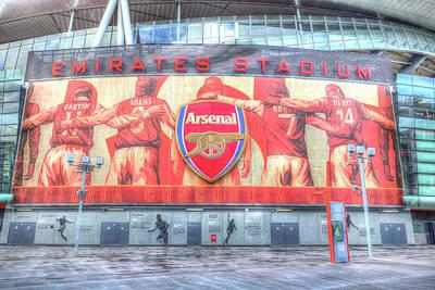 Photograph - Arsenal Football Club Emirates Stadium London by David Pyatt