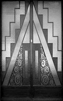 Photograph - Art Deco Door by Andrew Fare