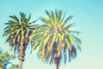 Photograph - Art Deco Palms by Joseph S Giacalone