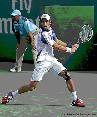 Art Of Tennis Art Print