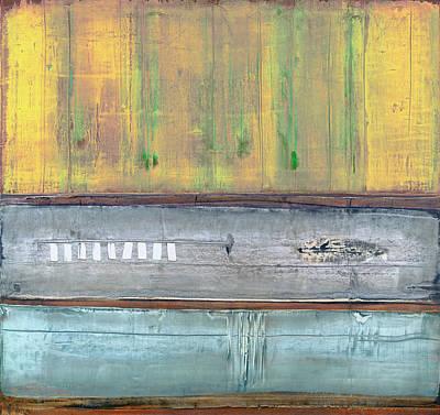 Painting - Art Print Abstract 51 by Harry Gruenert