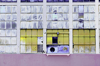 Photograph - Art Print Windows 13 by Harry Gruenert