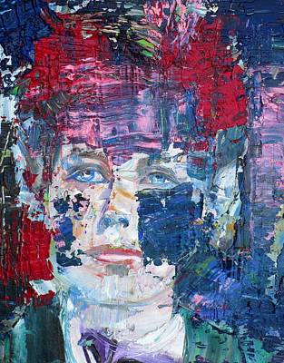 Painting - Arthur Rimbaud - Oil Portrait by Fabrizio Cassetta