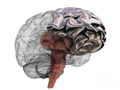 Artificial Intelligence Art Print by Christian Darkin